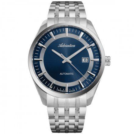 Zegarek Męski Adriatica na bransolecie A8309.5115A Swiss Made