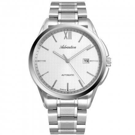 Zegarek Męski Adriatica na bransolecie A8283.5163A Swiss Made