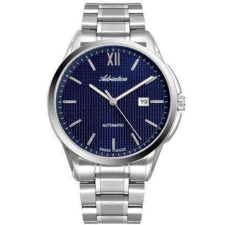 Zegarek Męski Adriatica na bransolecie A8283.5165A Swiss Made