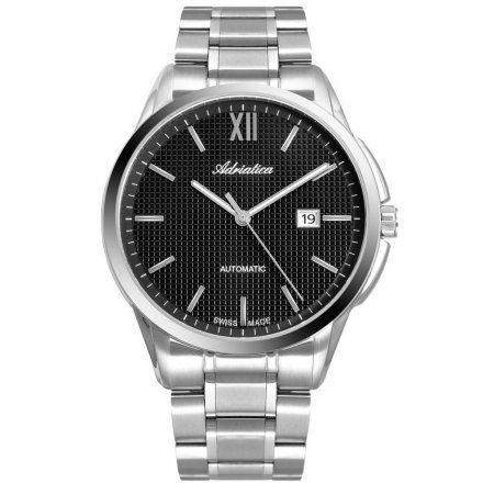 Zegarek Męski Adriatica na bransolecie A8283.5166A Swiss Made