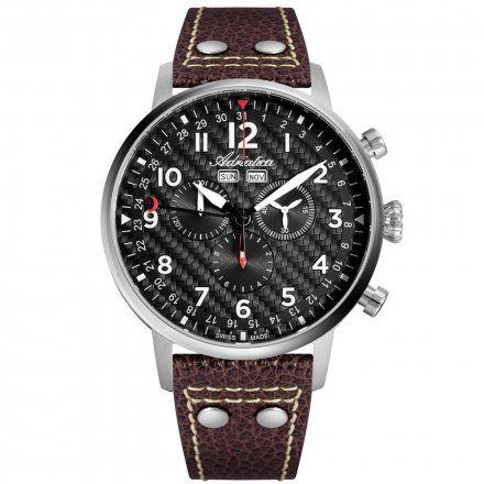 Zegarek Męski Adriatica na pasku A8308.5226CH - Chronograf Swiss Made