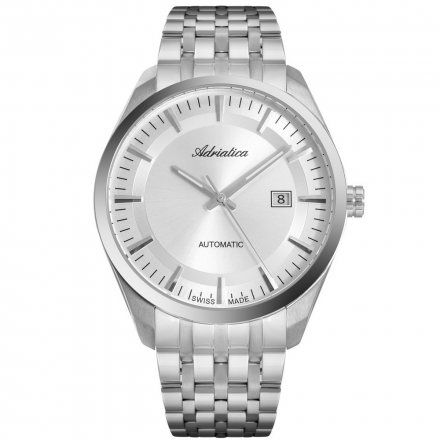 Zegarek Męski Adriatica na bransolecie A8309.5113A Swiss Made