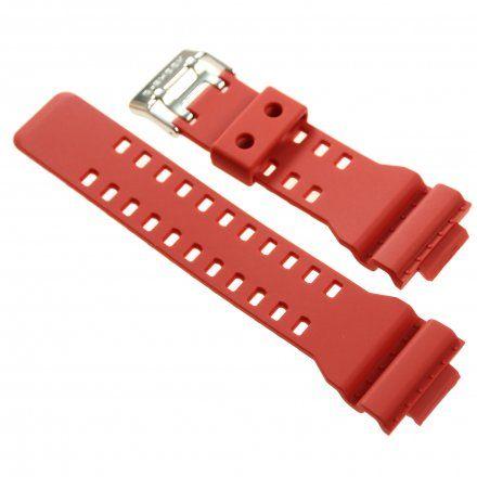 Pasek 10395226 Do Zegarka Casio Model GA-100B-4A czerwony