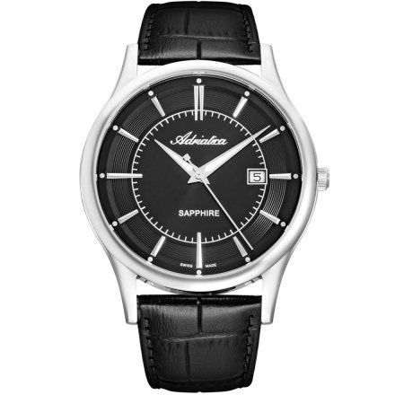 Zegarek Męski Adriatica na pasku A1296.5214Q Swiss Made