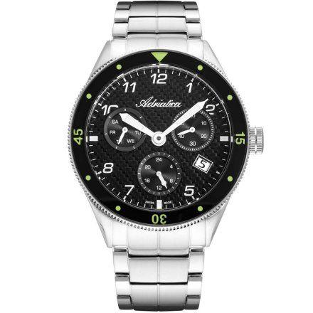 Zegarek Męski Adriatica na bransolecie A8322.5124QF - Multifunction Swiss Made