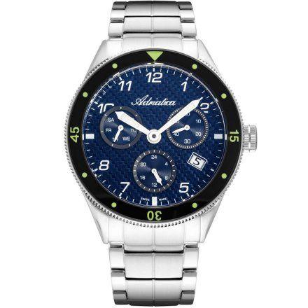 Zegarek Męski Adriatica na bransolecie A8322.5125QF - Multifunction Swiss Made