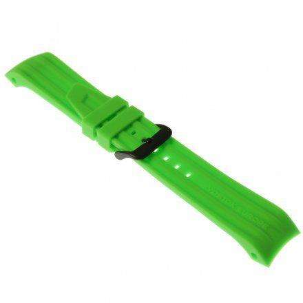 Pasek do zegarka Vostok Europe Pasek Mriya II - Silikon (4251) zielony czarna klamra