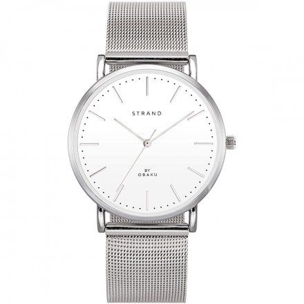 S702GXCWMC Srebrny zegarek Męski Strand