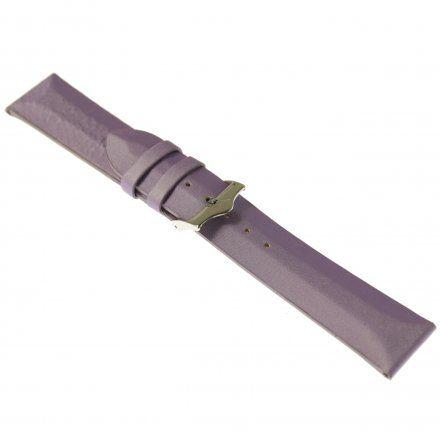 Pasek do zegarka Vostok Europe Pasek Rocket N1 - Damski (5162) fioletowy matowy stalowa klamra