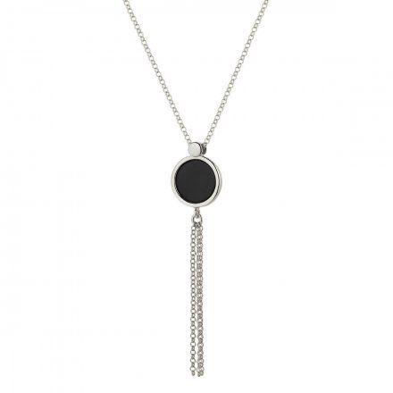 Naszyjnik srebrny Z ONYKSEM Biżuteria Ditta Zimmermann DZN379/ONX/R