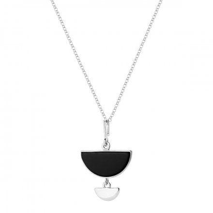 Naszyjnik srebrny z onyksem Biżuteria Ditta Zimmermann DZN344/ONX/R