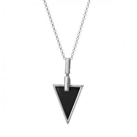 Naszyjnik srebrny z onyksem Biżuteria Ditta Zimmermann DZN170/ONX/R