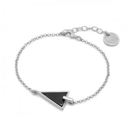 Bransoletka srebrna z onyksem Biżuteria Ditta Zimmermann DZB172/ONX/R