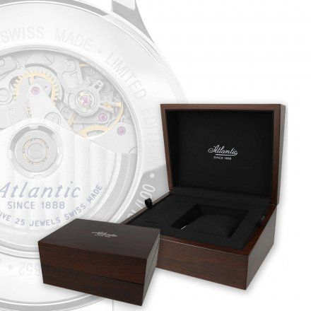 Zegarek Atlantic Worldmaster Pilot 55852.41.93 Valjoux Automatic Limited Edition