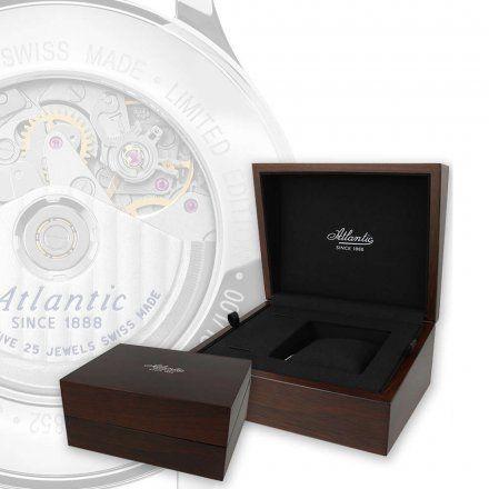 Zegarek Atlantic Worldmaster Pilot 55852.41.93 Valjoux Automatic Limited Edition