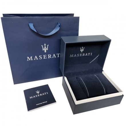 MASERATI New Icon BLUE EDITION R8853141001 Zegarek męski
