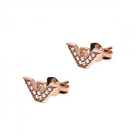 Kolczyki damskie Emporio Armani EG3466221 Essential Oryginalna Biżuteria EA