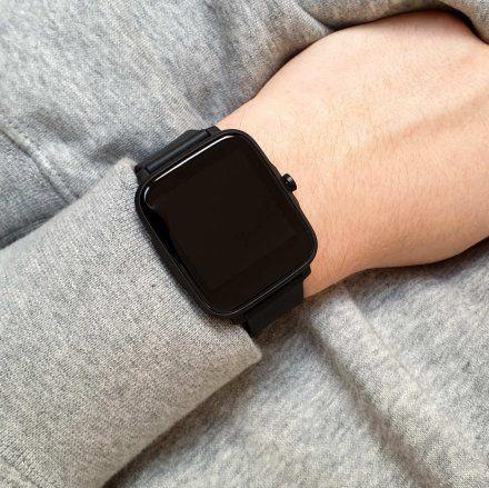 Smartwatch Pacific 13-1 Czarny Temperatura Ciśnienie Puls Kroki