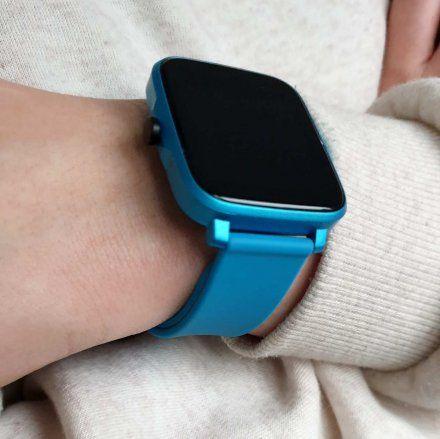 Smartwatch Pacific 13-2 Niebieski Temperatura Ciśnienie Puls Kroki
