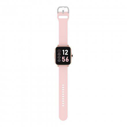 Smartwatch Pacific 13-3 Różowy Temperatura Ciśnienie Puls Kroki