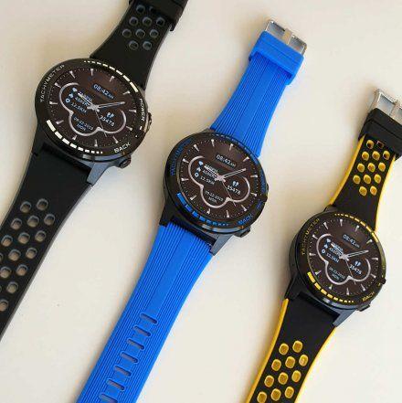 Sportowy Smartwatch Pacific 12-1 Szary Rozmowy GPS Puls Kompas Kroki
