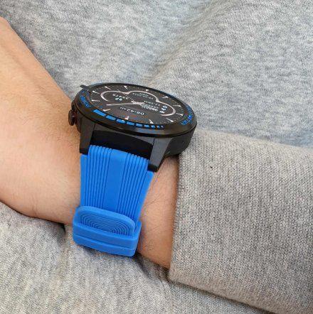 Sportowy Smartwatch Pacific 12-2 Niebieski Rozmowy GPS Puls Kompas Kroki