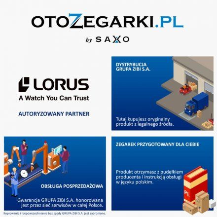 Zegarek Męski Lorus Sports RM361FX9