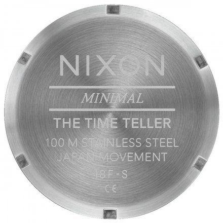 Zegarek Nixon Time Teller All White - Nixon A045-126