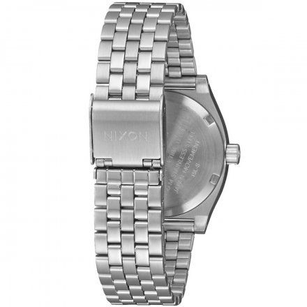 Zegarek Nixon Time Medium Teller All Silver - Nixon A1130-1920