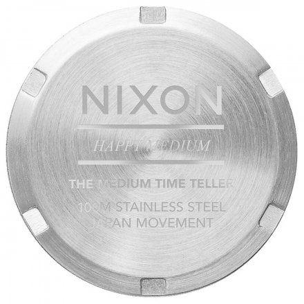 Zegarek Nixon Time Medium Teller All Silver - Nixon A1130-1920