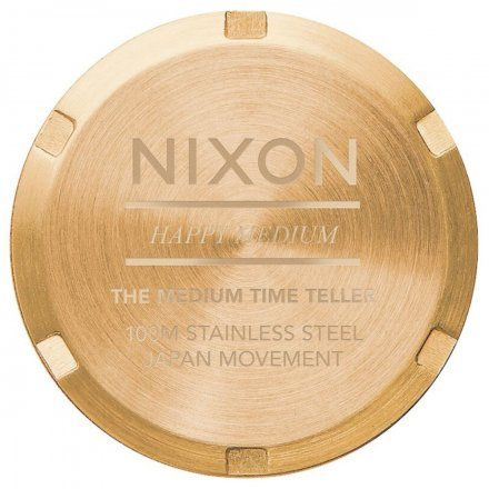 Zegarek Nixon Time Medium Teller All Gold - Nixon A1130-502