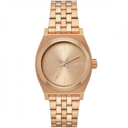 Zegarek Nixon Time Medium Teller All Rose Gold - Nixon A1130-897