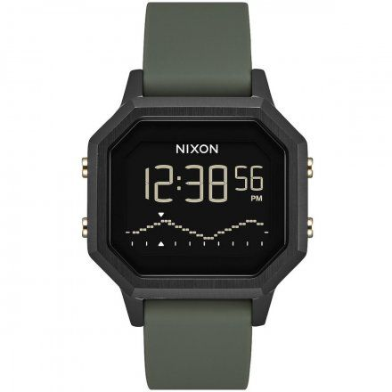 Zegarek Nixon SIREN Black/Fatigue - Nixon A1211-178