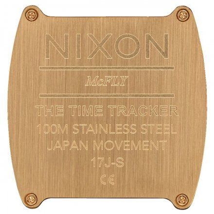 Zegarek Nixon Time Tracker Gold - Nixon A1245-502