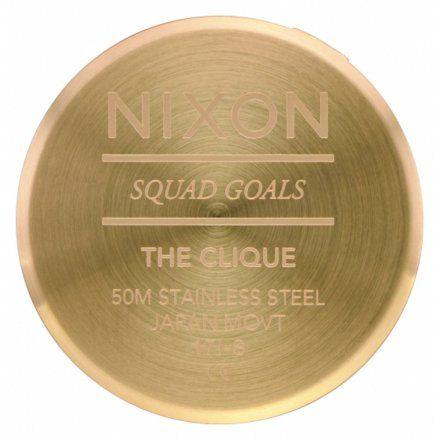 Zegarek Nixon Clique Gold/Black - Nixon A1249-513