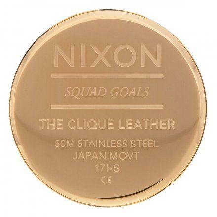Zegarek Nixon Clique Gold/Black - Nixon A1250-513