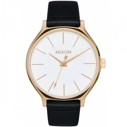 Zegarek Nixon Clique Gold/Black/White - Nixon A1250-1964