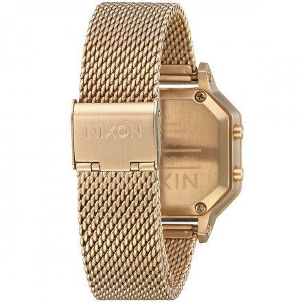 Zegarek Nixon SIREN Gold/Black - Nixon A1272-502