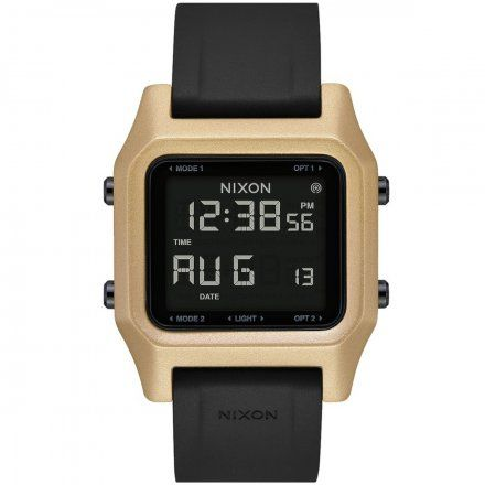 Zegarek Nixon Staple Black / Gold - Nixon A1282-010