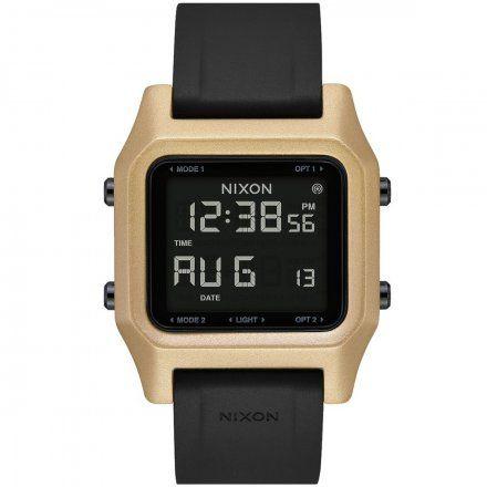 Zegarek Nixon Staple Black / Gold - Nixon A1282-010