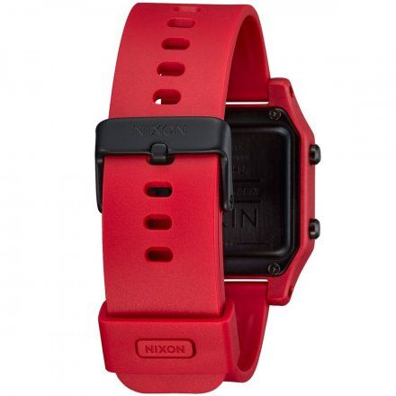 Zegarek Nixon Staple Black / Red - Nixon A1282-200