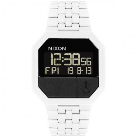 Zegarek Nixon Re-Run White/Black - Nixon A158-126