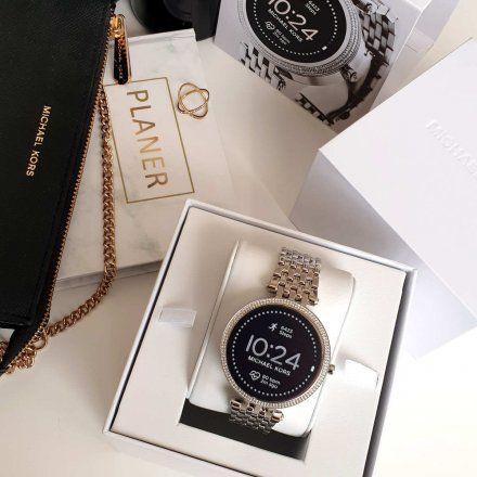 Srebrny Smartwatch Michael Kors GEN 5E MKT5126 Darci