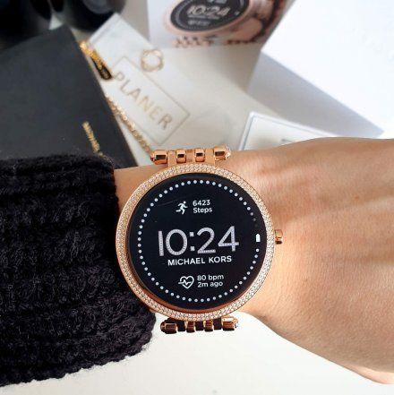 Różowozłoty Smartwatch Michael Kors GEN 5E MKT5128 Darci