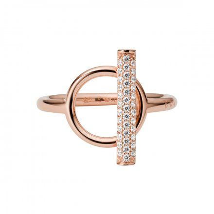 Pierścionek damski Emporio Armani EG3519221 r. 19 Oryginalna Biżuteria EA