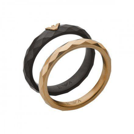 Obrączka Emporio Armani EGS2767001 r.22 Oryginalna Biżuteria EA
