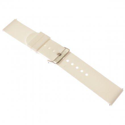 Pasek do smartwatcha Rubicon Pasek biały RNCE40 22 mm