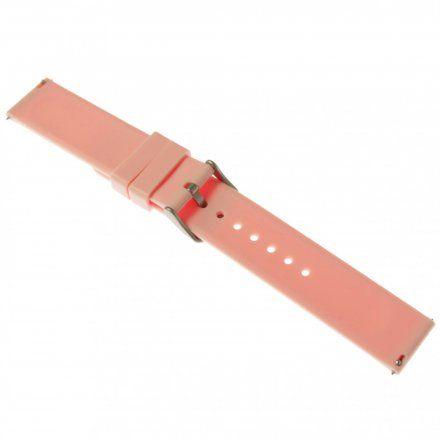 Pasek do smartwatcha Rubicon Pasek różowy RNCE38 22 mm