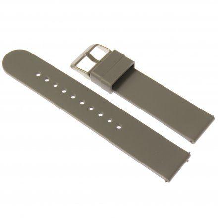 Pasek do smartwatcha Rubicon Pasek szary RNCE38 22 mm