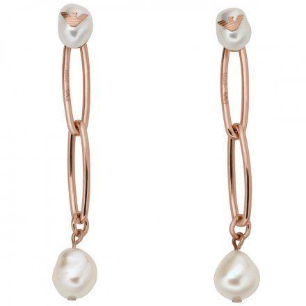 Kolczyki damskie Emporio Armani EGS2750221 Oryginalna Biżuteria EA